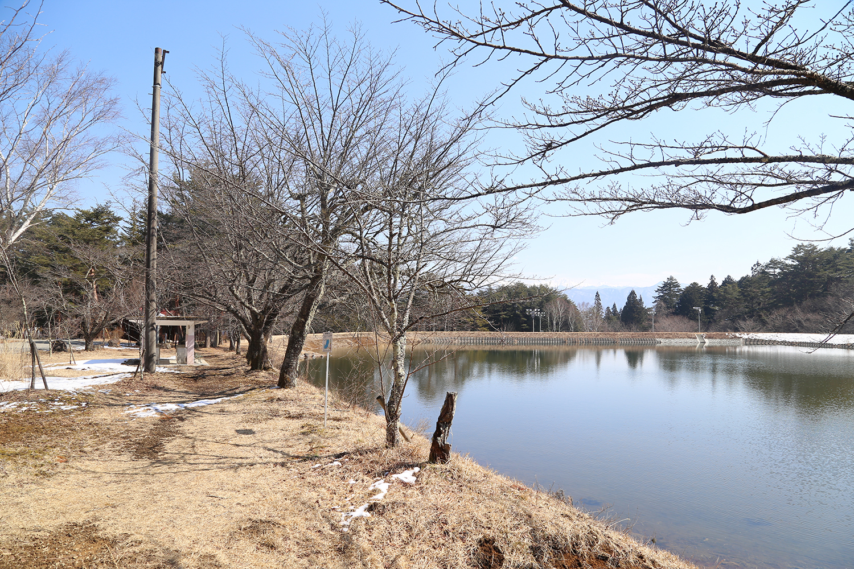 駒ヶ根市 大沼湖